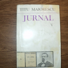 Titu Maiorescu - Jurnal V - Filosofie