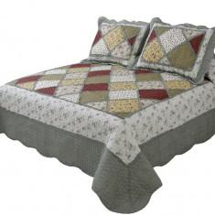 Cuvertură de pat dublu Valentini Bianco A510/3