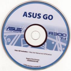 DVD instalare-actualizare hărţi pentru Navigatoare - ASUS Go R300 (2007) - Software GPS