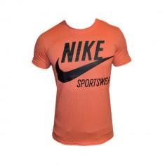Tricou Nike Sportswear Portocaliu - Toate Masurile E118 - Tricou barbati, Marime: S, M, L, XXL, Culoare: Din imagine