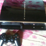 Consola Ps3 PlayStation 3 Sony hdd 80gb modat +gta 5, fifa16, +Acces Online