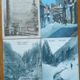 42 ilustrate interbelice circulate si necirculate, plus 2 ilustrate liliput RPR, Circulata, Printata, Romania 1900 - 1950