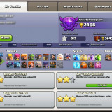 Cont Clash of Clans lvl 115 (TH9 max) - eroi lvl 20