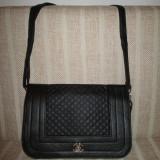 Geanta Dama - Geanta/plic dama neagra eleganta C+CADOU