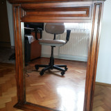 Oglinda franceza,veche,rama din lemn masiv