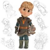 Papusa Disney Kristoff Animator din Frozen