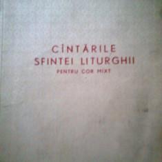 CANTARILE SFINTEI LITURGHII PENTRU COR MIXT - GHEORGHE CUCU (1970) - Carti bisericesti