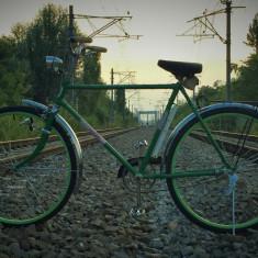 Bicicleta PEGAS IDEAL anii'80 - Bicicleta retro, 18 inch, 28 inch, Numar viteze: 1