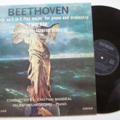 Disc vinil BEETHOVEN - Concertul Nr. 5, pian si orchestra OP.73 (ST - ECE 03050) - Muzica Clasica electrecord