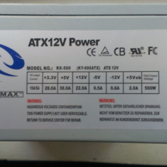 Sursa ATX12V POWER Raidmax RX-500 (KY-600ATX) 500W - Sursa PC Raidmax, 500 Watt
