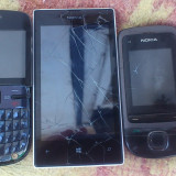 Lot Telefoane Nokia Cu Defecte - Telefon Nokia, Negru, Nu se aplica, Neblocat, Single SIM, Fara procesor