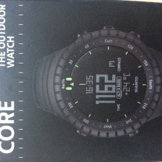 Ceas Suunto Core All Black - Ceas barbatesc Suunto, Casual, Quartz, Plastic, Altimetru, Electronic