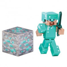 Set Figurine Minecraft Diamond Steve