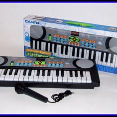 Mini orga de jucarie cu microfon functional pentru copii PX02 - Instrumente muzicale copii