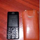 Nokia 206 Dual sim - Telefon Nokia, Negru, Nu se aplica, Neblocat, Fara procesor