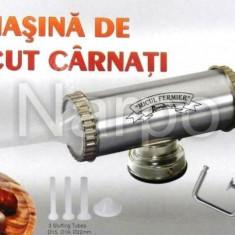 Masina de facut carnati si mici 1.5kg Inoxidabila YG-2003 Micul Fermier