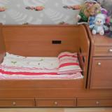 Patut belelus/adolescent Bertoni Transformabil 3 in 1 - Patut lemn pentru bebelusi Bertoni, 120x60cm