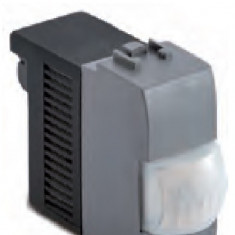 Detector prezenta cu LED-uri, 12V AC / DC 50 / 60Hz, releu de comutare NO-CNA- 1A, argintiu