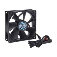 Ventilator pentru carcasa Revoltec AirGuard 92mm negru - Cooler PC