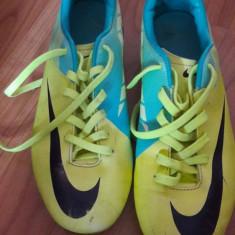 Ghete de fotbal Nike-Mercurial Superfly - Ghete fotbal Nike, Marime: 35.5, Culoare: Verde