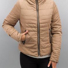 Jacheta Vero Moda cu guler blana - 10159737 bej - Geaca dama Vero Moda, Marime: XS, S, M, L, XL