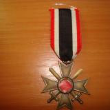 Decoratie militara germana Crucea de Merit de Razboi cu sabii, clasa a 2-a, WW2