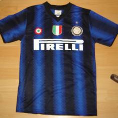 Tricou fotbal marimea S, FC Internazionale Milano nr 10 SNEIJDER - Tricou echipa fotbal, De club, Maneca scurta