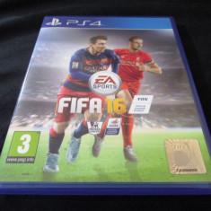 Joc Fifa 16, PS4, original, alte sute de jocuri! - Jocuri PS4, Sporturi, Toate varstele, Multiplayer