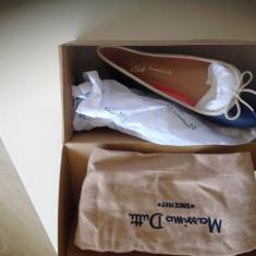 Pantofi Copii Massimo Dutti, Culoare: Bleumarin, Marime: 32