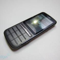 Nokia C3-01 GRI Orange - Telefon mobil Nokia C3-01