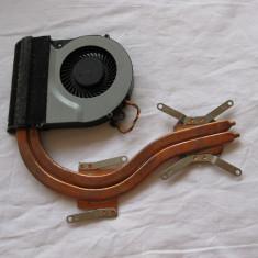 Sistem racire (cooler + heatsink ) laptop TOSHIBA C870, functionale - Cooler laptop