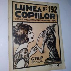 Revista lumea copiilor Nr. 192 - Reviste benzi desenate