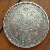 2 florin 1859 B Austro-Ungaria, argint, Europa