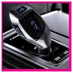 Modulator FM cu Bluetooth Car Kit