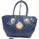 Geanta dama mare bleumarin model Versace+CADOU, Culoare: Din imagine