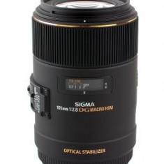 Obiectiv DSLR - Sigma 105mm F2.8 EX DG OS HSM Macro, obiectiv foto Canon