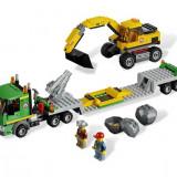 Transport de excavator (4203) - Trenulet de jucarie