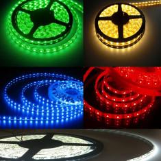Banda LED (Verde / Rosu / Albastru / Galben / Alb) / Banda - Bec / LED