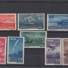 Timbre Romania, Nestampilat - ROMANIA 1948, LP 238, LP 239, MARINA SI AVIATIA, MNH, LOT 1 RO