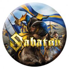 Insigna Sabaton - Carolus Rex - Insigna Barbati