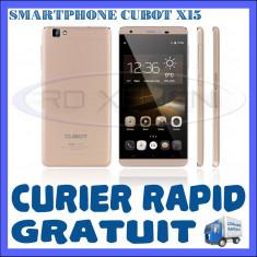 Telefon mobil Dual SIM Cubot, Auriu, 16GB, Neblocat, Dual SIM, Quad core - SMARTPHONE DUAL SIM CUBOT X15 - 4G, QUADCORE 1.3 GHZ, 2GB RAM, 16GB INT, 16MP