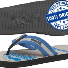 Papuci barbati - Papuci barbat Lonsdale Newby - papuci originali - papuci plaja - papuci piscina