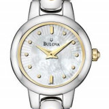 Ceas original de dama Bulova Mother of Pearl 98L141