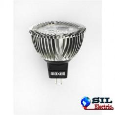 Bec/neon - Spot cu LED GU5.3 5W lumina calda 12V Maxell