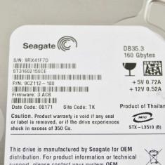 Hard Disk Seagate, 100-199 GB, Rotatii: 7200, IDE - HDD IDE 160Gb Seagate ST3160215ACE