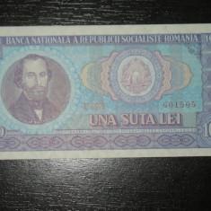 Bancnote Romanesti, An: 1966 - Bancnota 100 lei Romania 1966, UNC