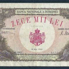 Bancnote Romanesti, An: 1945 - ROMANIA 10000 10.000 LEI 18 MAI 1945 [21]