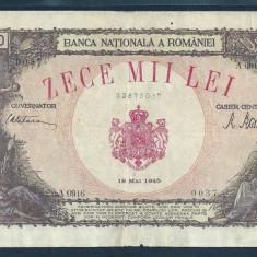 ROMANIA 10000 10.000 LEI 18 MAI 1945 [15]
