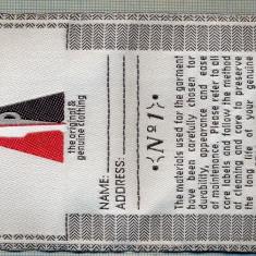 308 -EMBLEMA MARE - PDM - THE ORIGINAL&GENUINE CLOTHINGT -starea care se vede - Uniforma militara