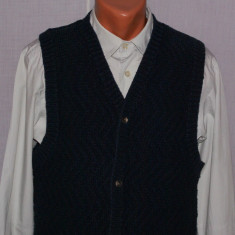 Vesta barbati TIMBERLAND Weathergear marimea S / M bleumarin tricotata manual, Matase